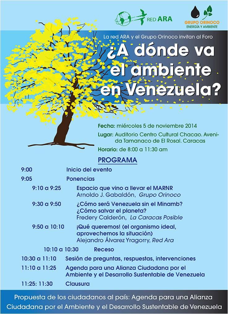A dónde va el ambiente en Venezuela